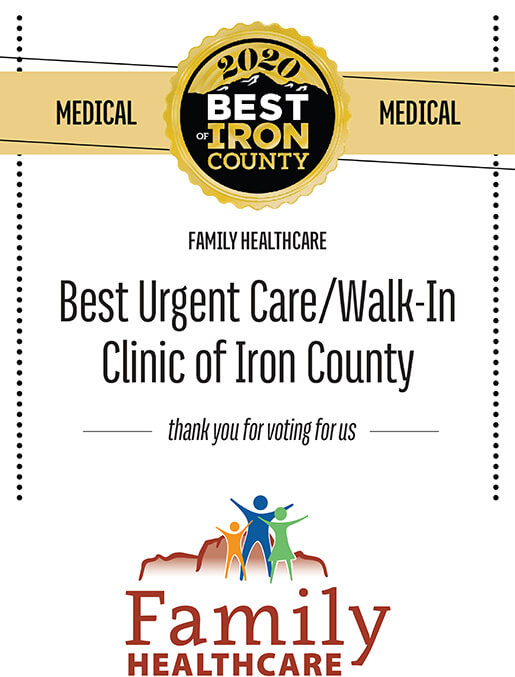 Best of Iron County 2020 - Urgent Care/Walk-in Clinic